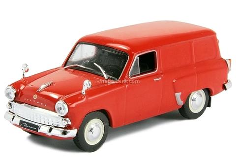 Moskvich-430 red 1:43 DeAgostini Auto Legends USSR #107