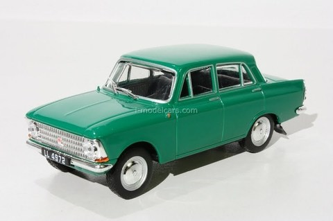 Moskvich-408 (Moskvitch) green 1:43 DeAgostini Kultowe Auta PRL-u #25