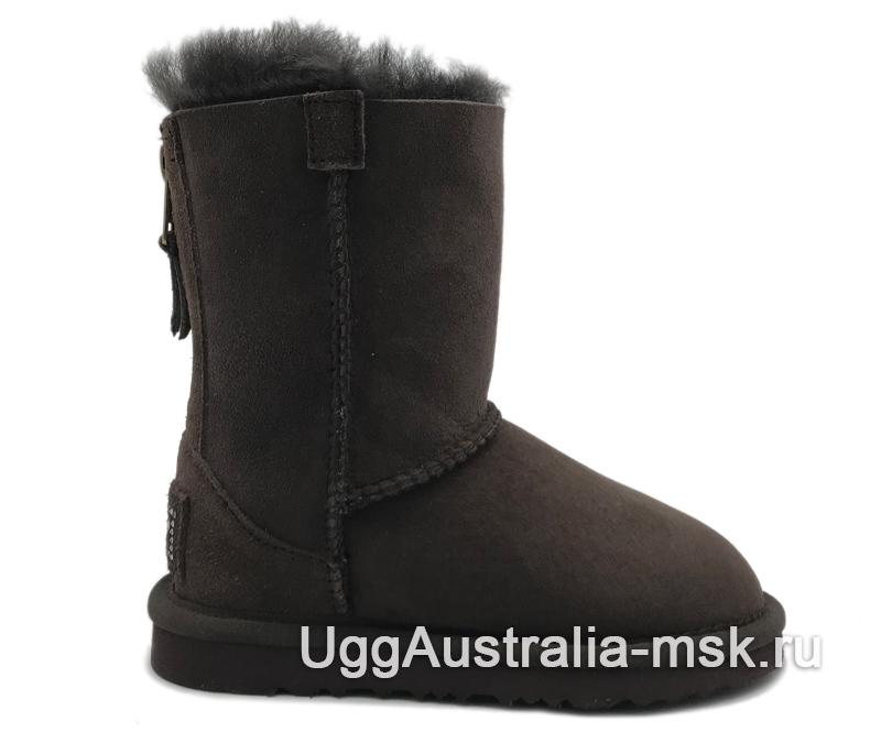 UGG Kids Zip Сhocolate