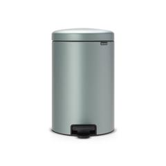 Мусорный бак newicon (20 л), Мятный металлик