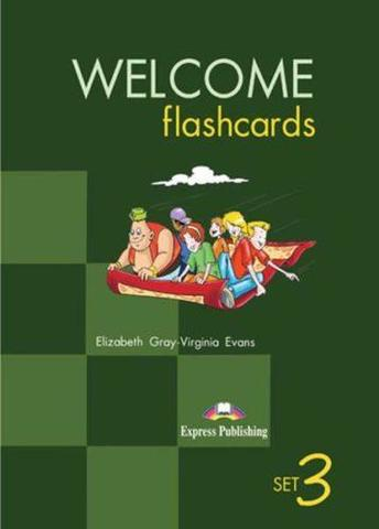 Welcome Aboard 3. Picture Flashcards. Раздаточный материал