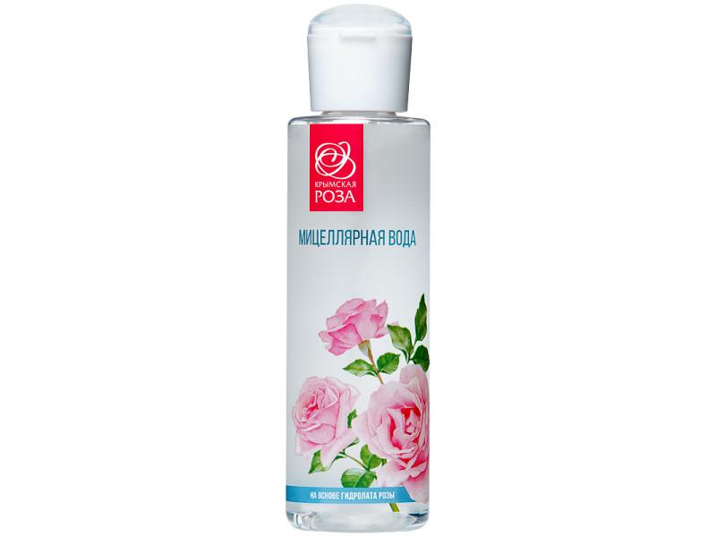 Мицеллярная вода на основе гидролата розы / Крымская роза