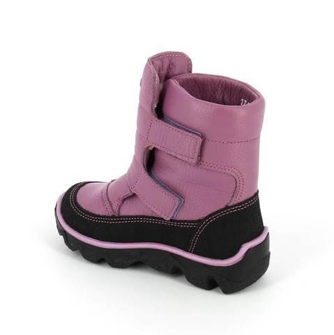 Зимние ботинки, цвет  сирень, Тотта (ТРК ГагаринПарк)