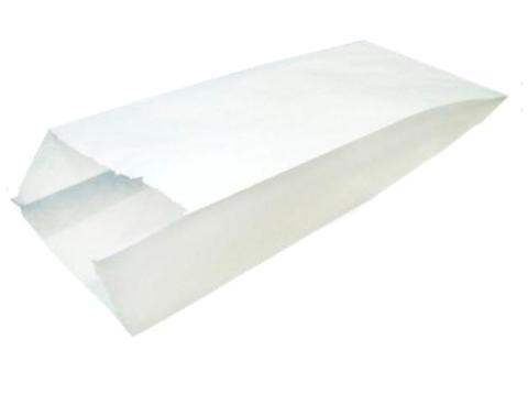 Пакет бумажный 80х45х185 мм с плоским дном ЭДП40