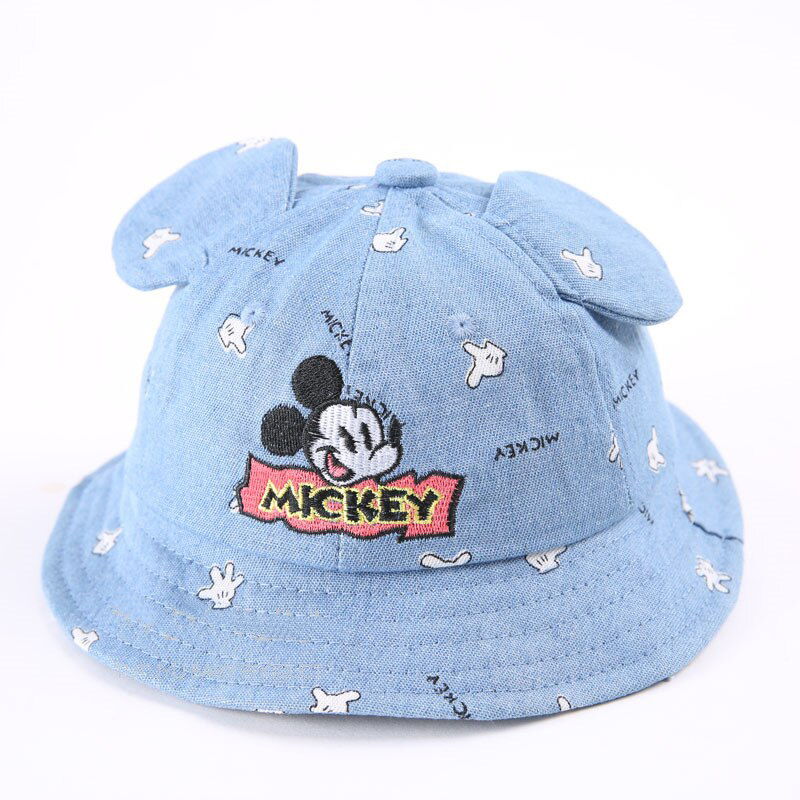 Микки Маус панамка джинсовая