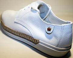 Туфли женские кожаные Kluchini летние