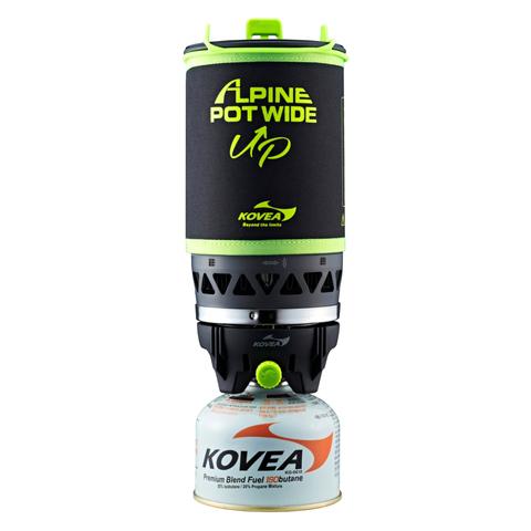 Система приготовления пищи Kovea Alpine Pot Wide, кастрюля 1 л, пьезоподжиг, чехол