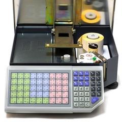 Весы с печатью этикеток ШТРИХ-ПРИНТ M 15-2.5 Д1И1 (v.4.5), 15кг, 2гр, 350x310, ГОСТ Р 53228, со стойкой