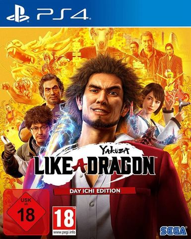 Yakuza: Like a Dragon. Day Ichi Steelbook Edition (PS4, английская версия)