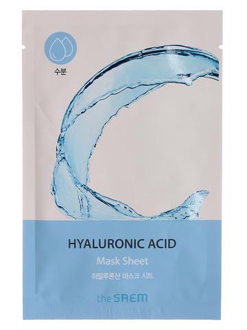 СМ BIO Маска на тканевой основе для лица BIO SOLUTION Hydrating Hyaluronic Acid Mask Sheet