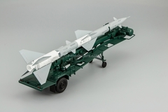 Transport-loading vehicle PR11 with rocket 13DSU green DIP 1:43