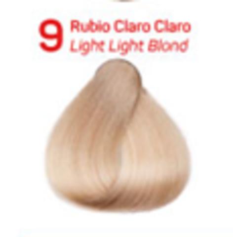 9 очень светлый блондин. Краситель для волос с эффектом лифтинга KV-1
