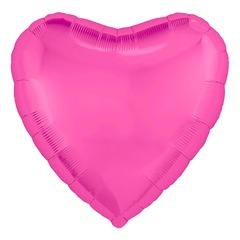 Аг 30''/76см, Сердце, Розовый пион.