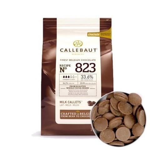 Молочный шоколад Каллебаут (Callebaut) 2,5 кг