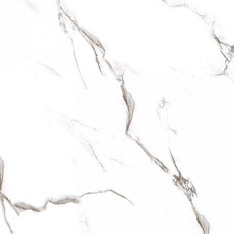 Керамогранит GRASARO Classic Marble 400x400 белый глянцевый G-270/G