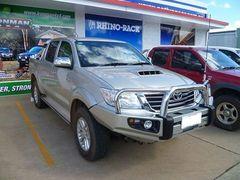 Бампер силовой Protector Toyota Hilux c 10/2011