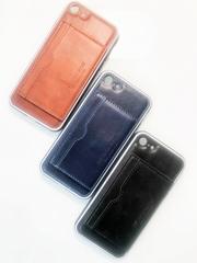 Чехол кожаный с визитницей для iPhone 6/6s, 7/8, 7/8 PLUS