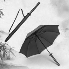 Зонт самурайский меч, 8 спиц (черный)