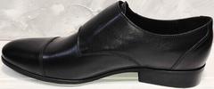 Свадебные туфли мужские черные Ikoc 2205-1 BLC.
