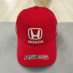 Кепка Хонда красная (Бейсболка Honda)