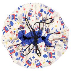 Коврик-мешок для игрушек (2 в 1) Play&Go Designer СУПЕРГЕРОЙ 79969 2