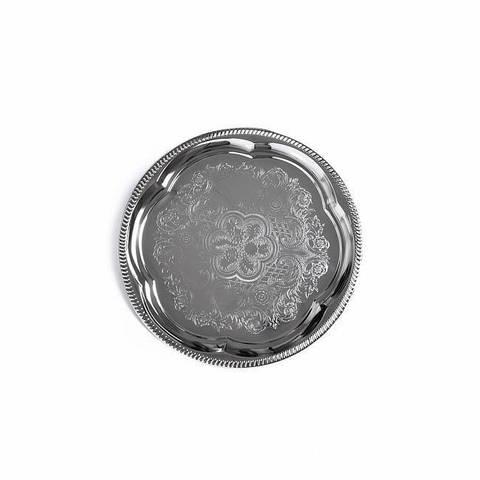 9417 FISSMAN Поднос 35 см, металл хромированный,  купить