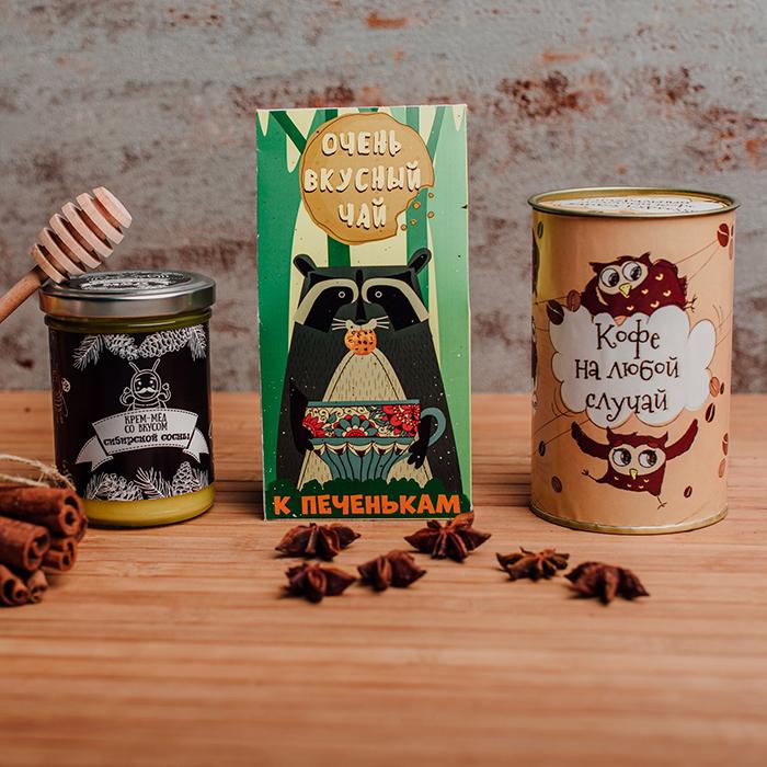 Купить подарочный набор чай кофе крем-мед в Перми для коллег по работе партнеров по бизнесу