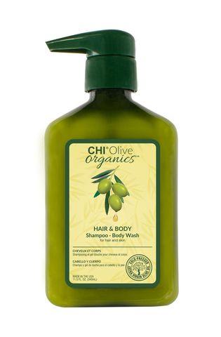 Шампунь CHI OLIVE ORGANICS для волос и тела, 340 мл