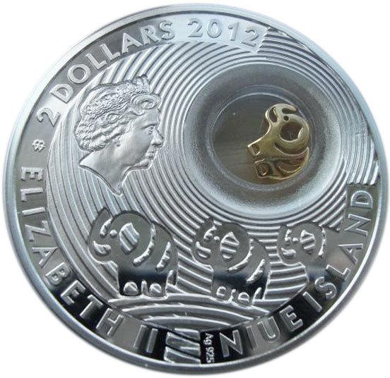 1 доллар. Ниуэ. Монета