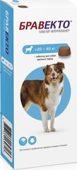 Жевательная таблетка Бравекто (MSD Animal Health) Для собак массой 20–40 кг
