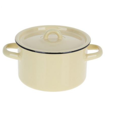 Кастрюля эмалированная СтальЭмаль 1.5 л диаметр 15.1 см (артикул производителя 2с15/1)