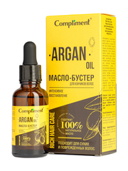 Compliment Rich Hair Care Масло-бустер для кончиков волос Интенсивное восстановление ARGAN OIL