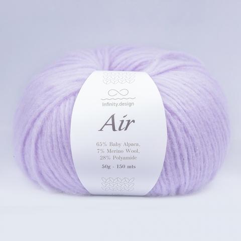 Пряжа Infinity Air 5212 сиреневый