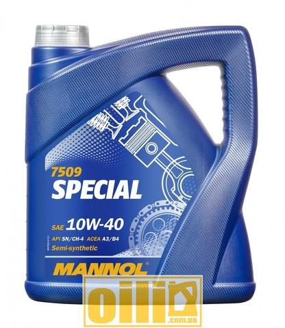 Mannol 7509 SPECIAL 10W-40 4л