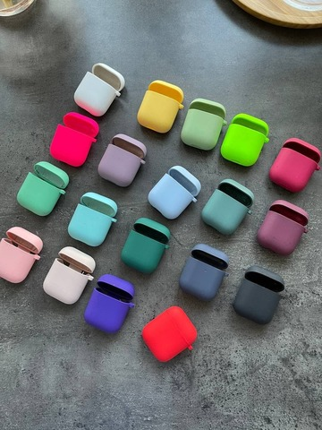 Чехол для AirPods Silicone case Full