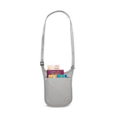 Кошелек на шею Pacsafe Coversafe V75 Светло-серый - 2