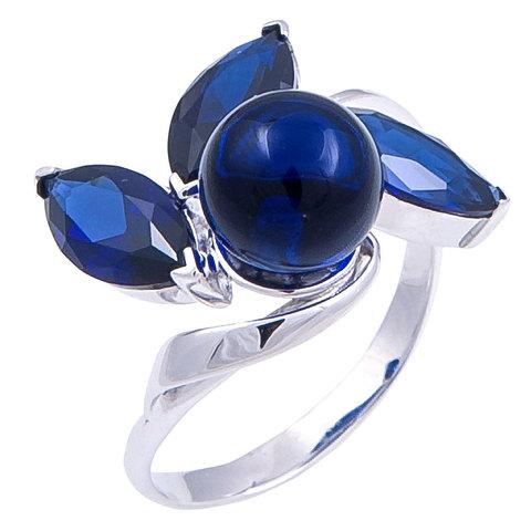 Кольцо с сапфиром Арт.1109кс