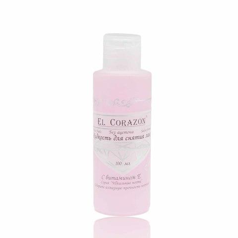 El Corazon Жидкость для снятия лака Без ацетона 100мл  с витамином Е