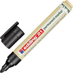 Маркер перманентный Edding Eco E-21/001 черный (толщина линии 1.5-3 мм)