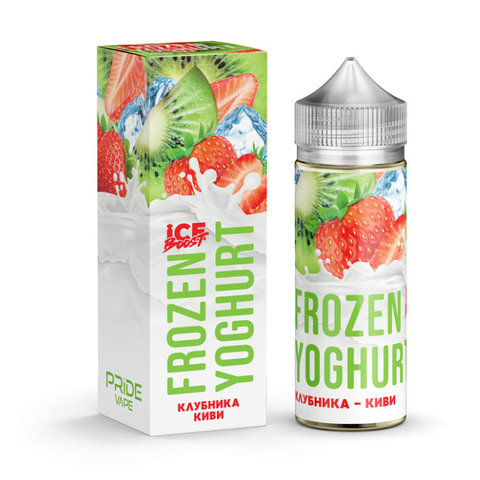 Жидкость Frozen Yoghurt Ice Boost 120 мл Клубника Киви