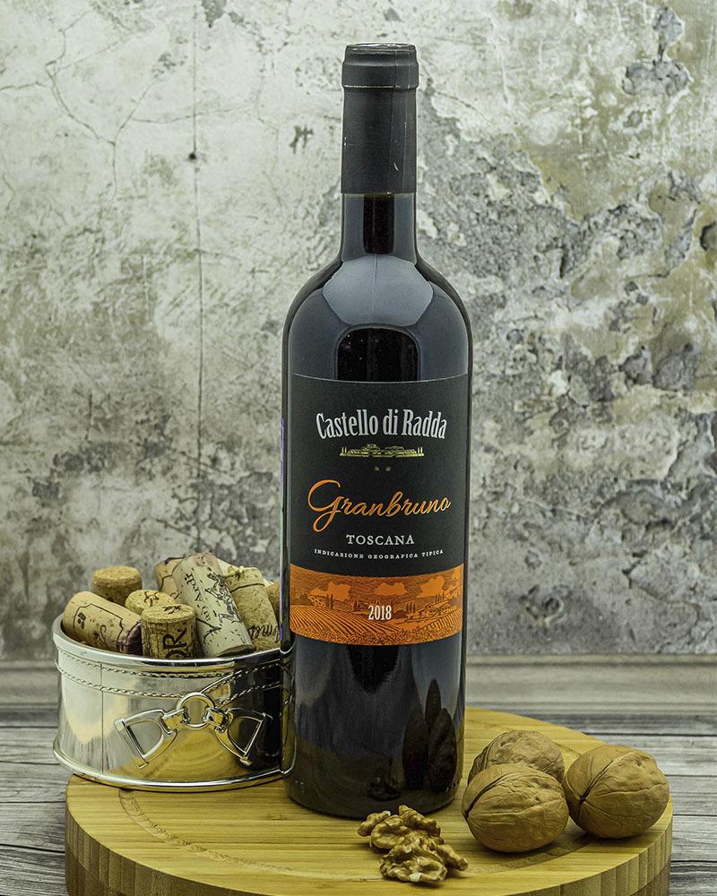 Вино Agricolle Gussalli Beretta Кастелло ди Радда Гранбруно Красное Сухое 2018 г.у. 13,5% 0,75 л