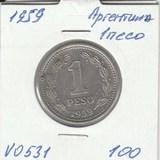 V0531 1959 Аргентина 1 песо
