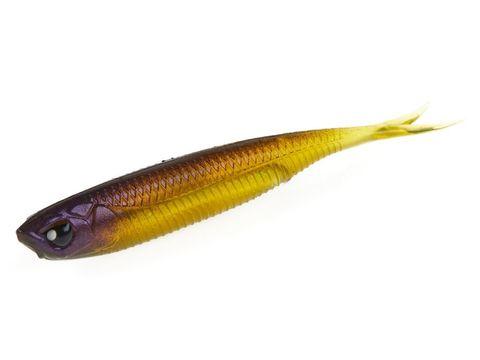 Виброхвост LJ 3D Series Makora Split Tail 3.0in (7,6 см), цвет 004, 7 шт.