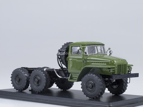 Ural-375D chassis khaki 1:43 Start Scale Models (SSM)