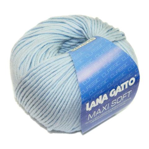 Купить Пряжа Lana Gatto Maxi Soft Код цвета 12260 | Интернет-магазин пряжи «Пряха»