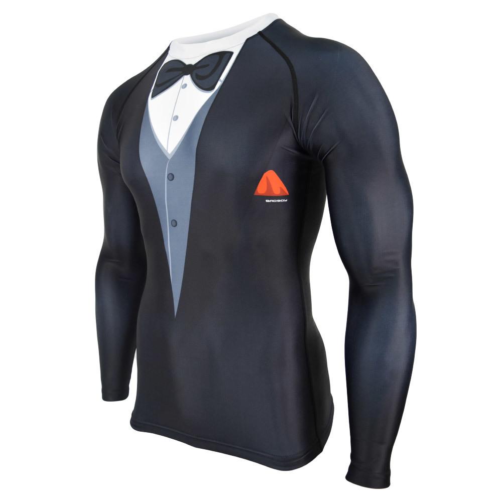 Термобелье/Рашгарды Рашгард Bad Boy Tuxedo Black 1.jpg