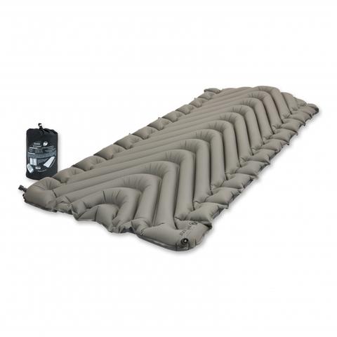Надувной коврик Klymit Static V Luxe, серый