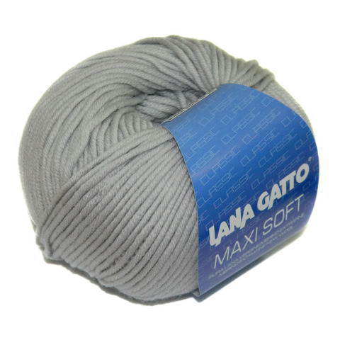 Купить Пряжа Lana Gatto Maxi Soft Код цвета 12504 | Интернет-магазин пряжи «Пряха»