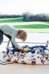 Коврик-мешок для игрушек (2 в 1) Play&Go Designer СУПЕРГЕРОЙ 79969 1
