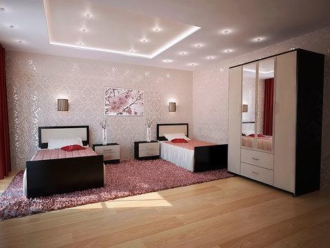 Спальня модульная Фиеста-7 венге
